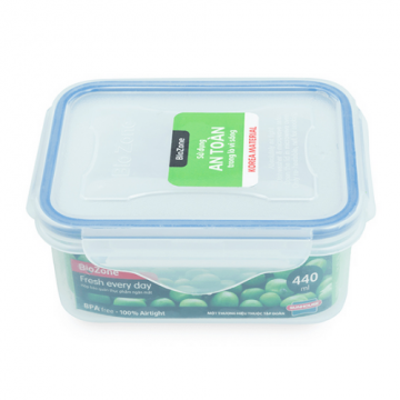 Hộp bảo quản thực phẩm ngăn mát Biozone 440ML KB-CO440P
