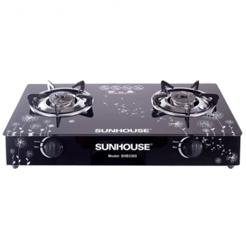 Bếp ga đôi Sunhouse SHB3365-SG(Black)