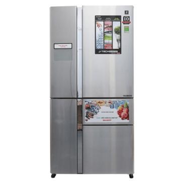 Tủ lạnh Sharp Inverter 665 lít SJ-F5X76VM-SL HBM01